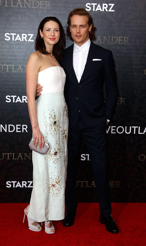 Sam Heughan y Caitriona Balfe, 'pareja de moda' en el regreso de