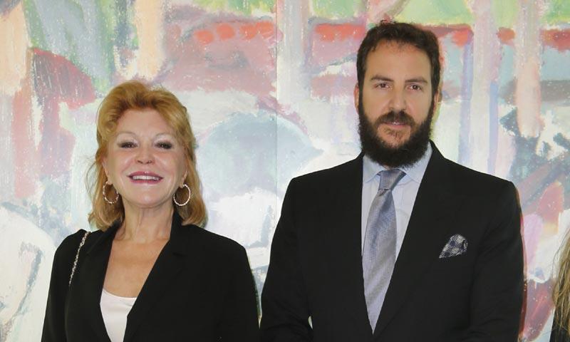En ¡HOLA!, ¿se han distanciado la baronesa Thyssen y su hijo Borja?