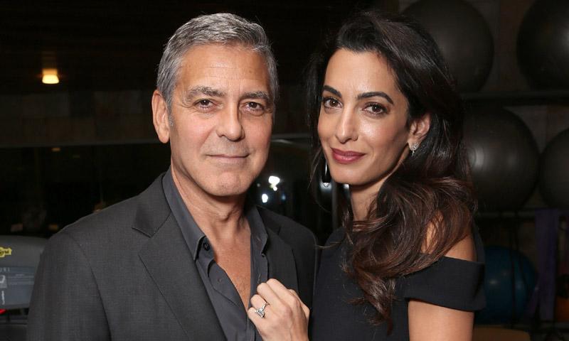 George y Amal Clooney dan asilo a un refugiado iraquí en su casa