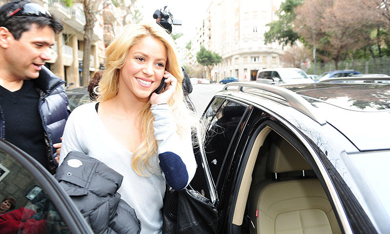 Shakira Carpool Karaoke sin James Corden en Barcelona