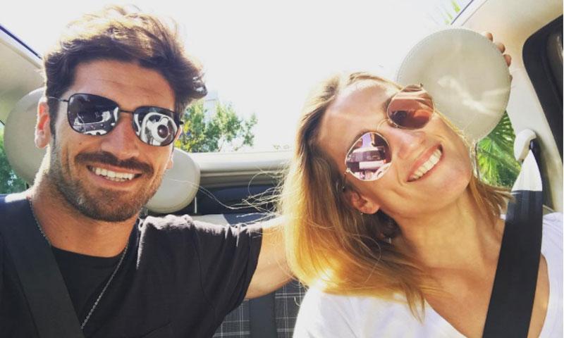 Las románticas vacaciones de Mireia Belmonte y Javier Hernanz
