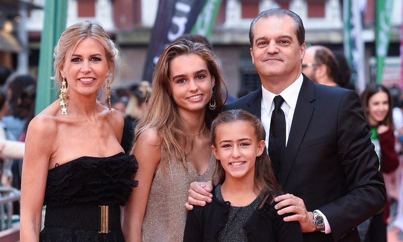 El orgullo de Ramón García al presentar a sus dos hijas