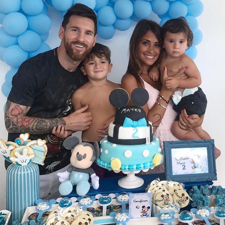 Feliz Cumpleanos Mateo La Divertida Fiesta Del Hijo De Leo Messi Y