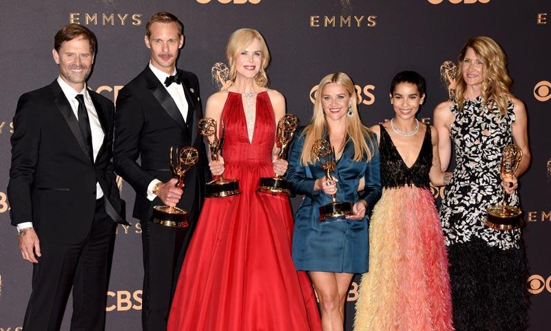 Las actrices 'reinan' en la noche de los Emmy