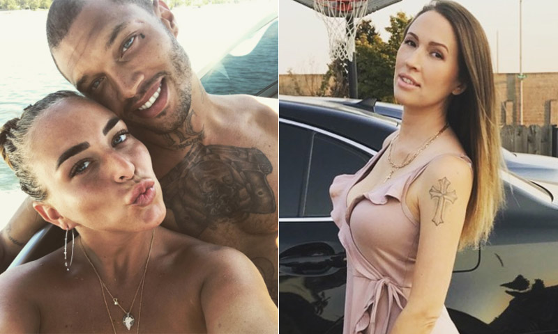 Chloe Green y Jeremy Meeks presumen de amor mientras que la mujer del modelo rompe su silencio