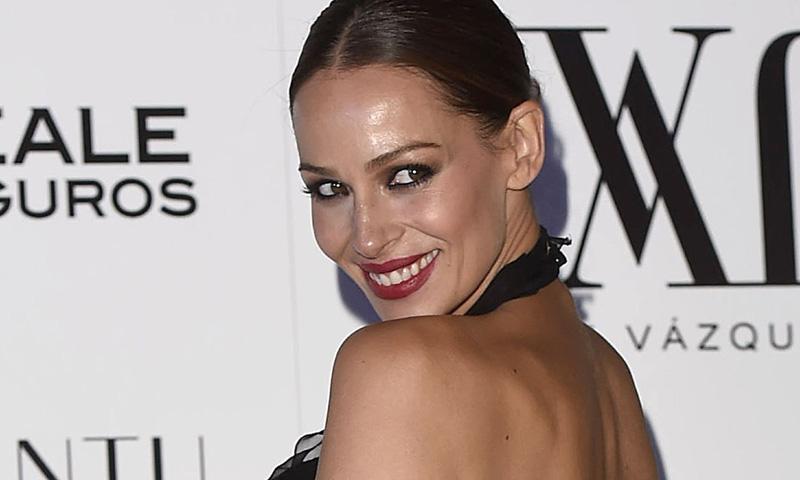 Eva González, un premamá de fiesta con Lindsay Lohan