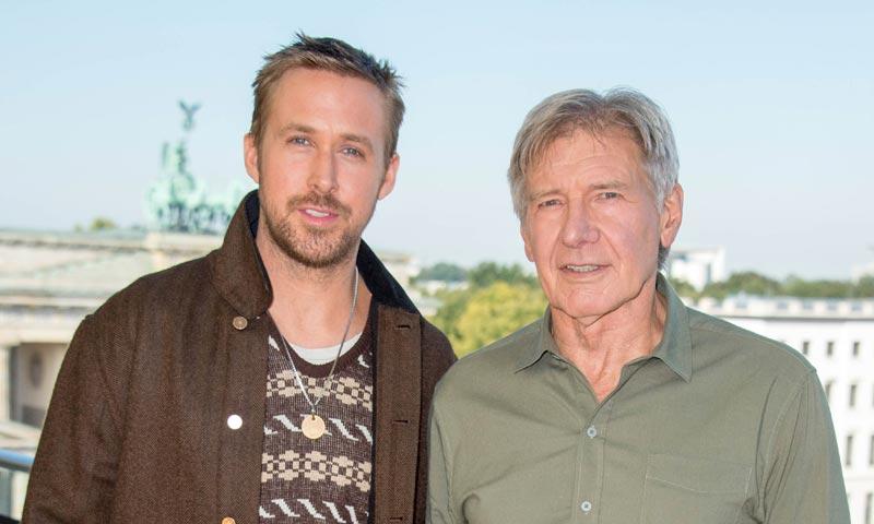 Así disfrutaron de la noche madrileña Harrison Ford y Ryan Gosling