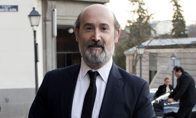 Javier Cámara ya tiene a sus hijos en Madrid