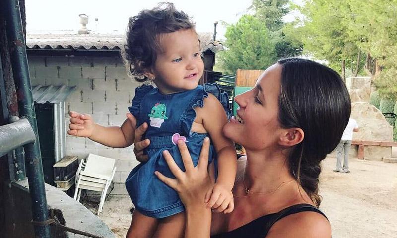 El vídeo de la hija de Malena Costa con el que no vas a poder parar de reír