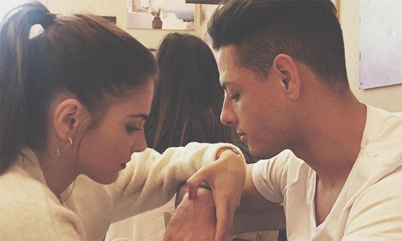Andrea Duro comparte con el mundo su amor por 'Chicharito'