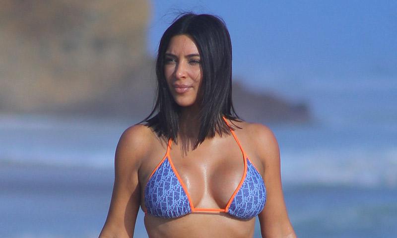 Kim Kardashian incendia la red con su último 'posado'