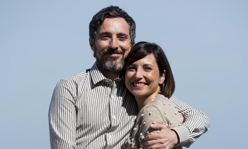 Marian Álvarez y Andrés Gertrúdix, unos papás de cine en San Sebastián