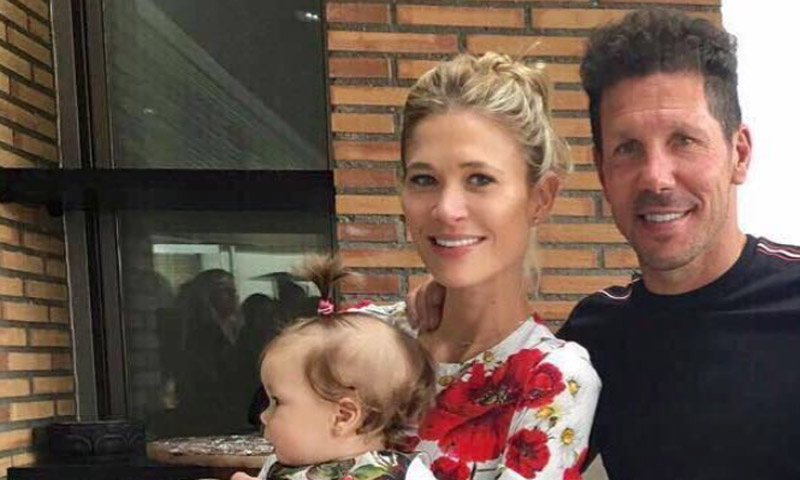 El 'glamuroso' primer cumpleaños de Francesca, la hija de Carla Pereyra y Simeone