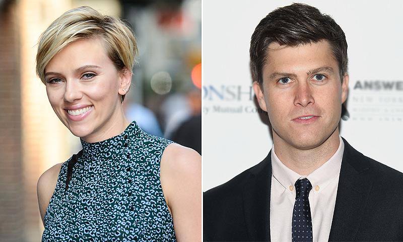 Scarlett Johansson y Colin Jost dan un paso más en su relación