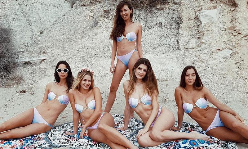 La (sexy) despedida de soltera de la modelo Mirian Pérez