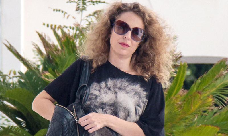 Silvia Abascal, una futura mamá en plena forma... ¡y muy rockera!