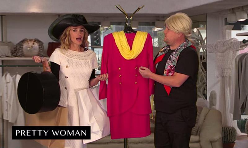 El vídeo de Julia Roberts parodiando su carrera que no puedes perderte