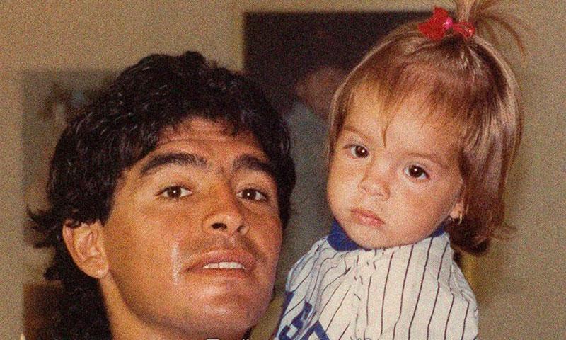 Maradona revela 'sin querer' la boda de su hija Dalma