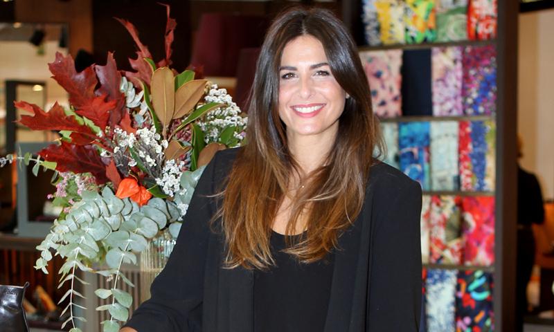 Nuria Roca 'pasa página' arropada por su familia en su peor momento profesional