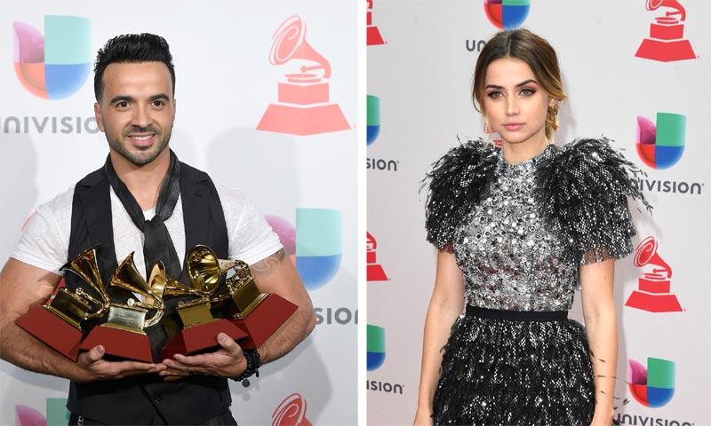Foto a foto: los Grammy Latinos premian a Luis Fonsi y Alejandro Sanz en una noche de éxitos