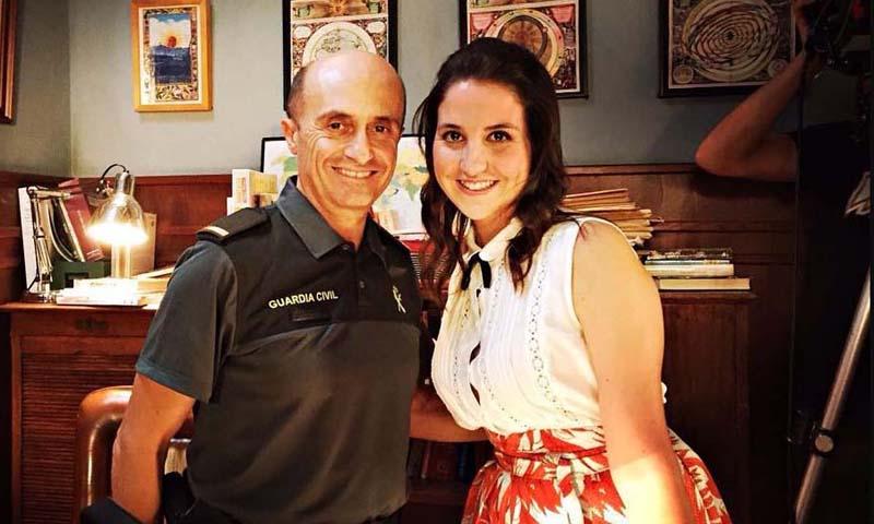 Camila Viyuela sigue los pasos de su padre, Pepe Viyuela, y será su hija también en la ficción