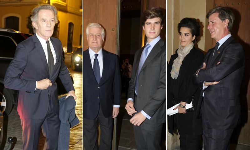La Familia de Alba homenajea en Sevilla a la Duquesa en el tercer aniversario de su muerte