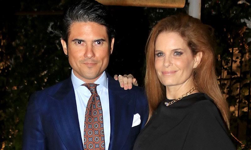 Las optimistas palabras de Olivia de Borbón sobre la enfermedad de su marido: 'Tengo fe en que encontrarán una solución'