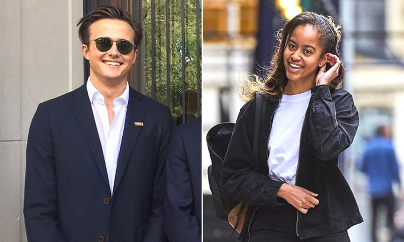 El vínculo del novio de Malia Obama con la familia real británica