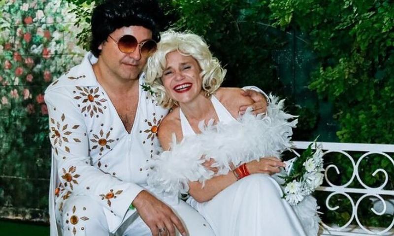 Eugenia Martínez de Irujo publica otra foto de su ¿boda en Las Vegas? con Narcís Rebollo