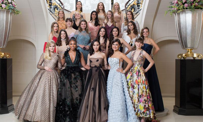 Foto a foto: Así deslumbraron las debutantes en el Baile de París