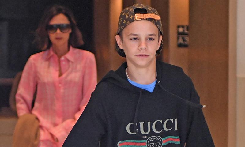 Romeo Beckham consigue su primer millón (de seguidores)