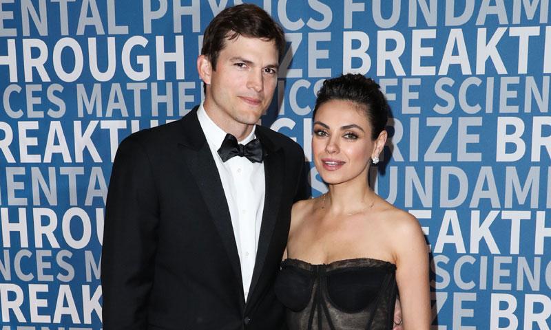 Han tenido que pasar cinco años para que Ashton Kutcher y Mila Kunis posen juntos como pareja