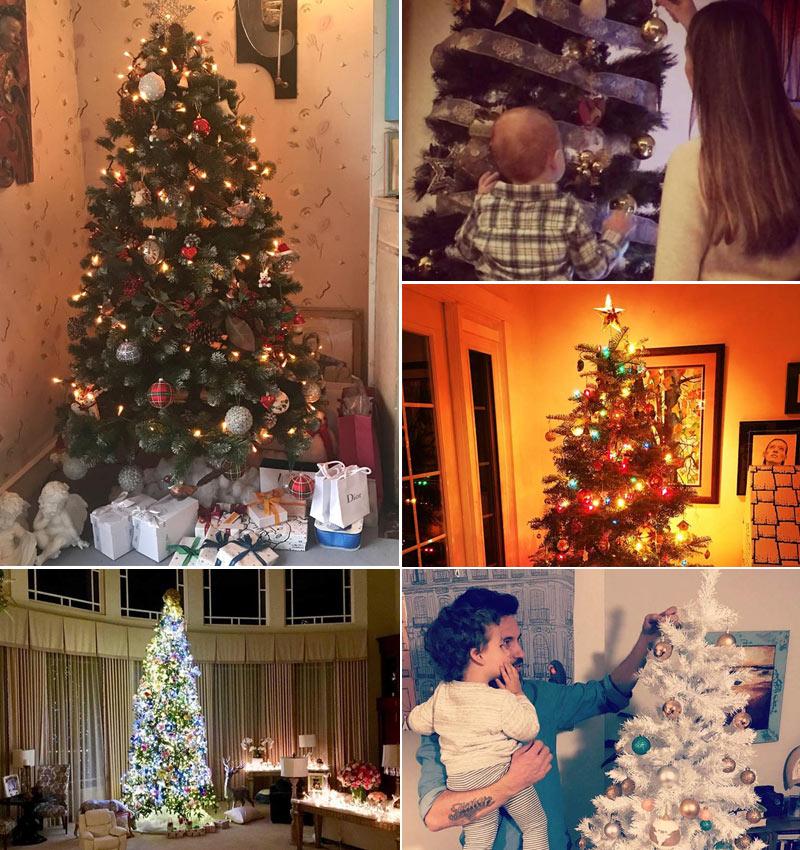 No sabes c mo decorar tu rbol de navidad insp rate en - Como adornar mi arbol de navidad ...