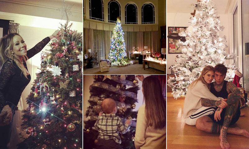¿No sabes cómo decorar tu Árbol de Navidad? Inspírate en las 'celebrities'