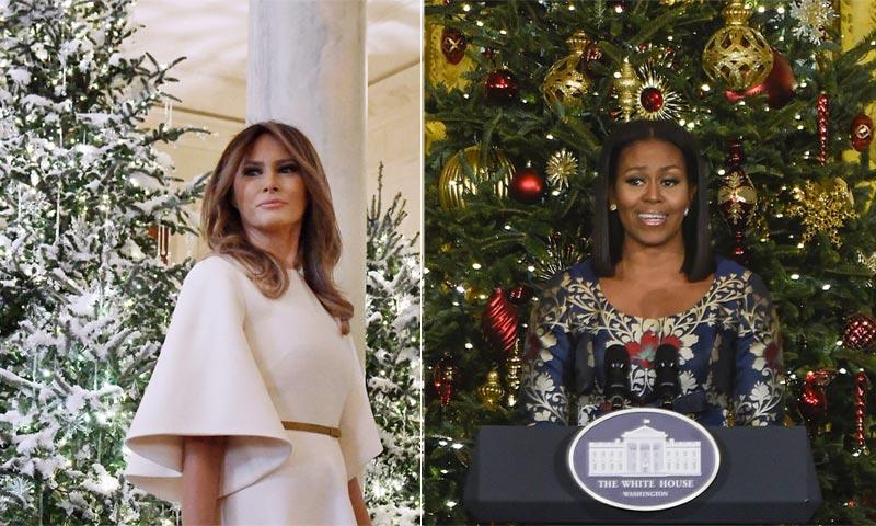 Trump vs. Obama, ¿qué decoración navideña prefieres?