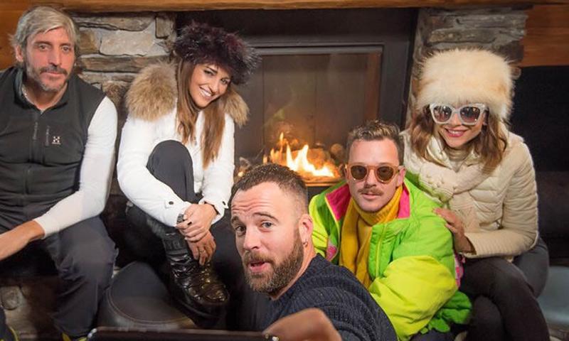 La divertida fiesta de Paula Echevarría en la nieve