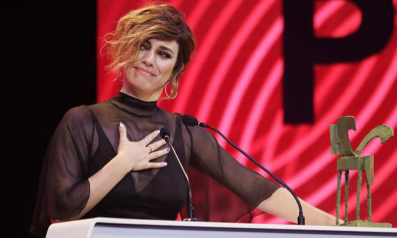 Blanca Suárez y su emocionante discurso que terminó en lágrimas