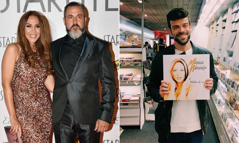 Polémica entre el marido de Mónica Naranjo y un exconcursante de 'OT 2017'