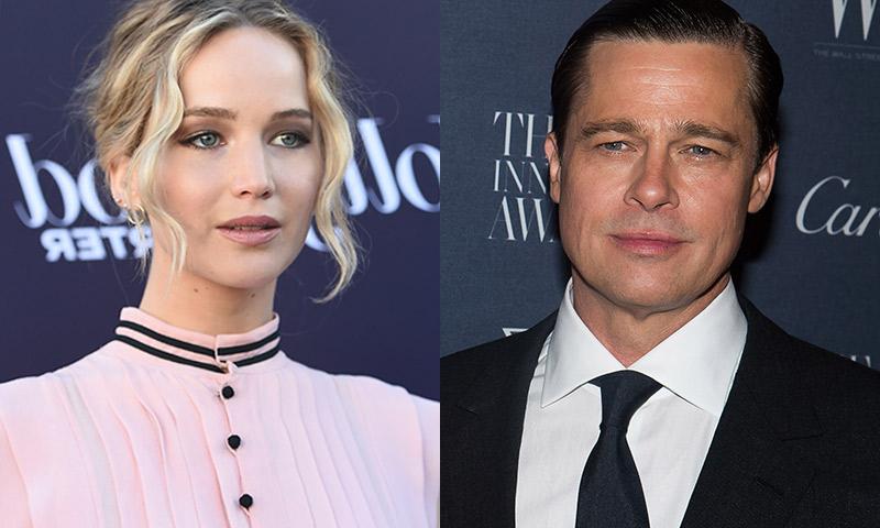 No, Brad Pitt y Jennifer Lawrence no están saliendo