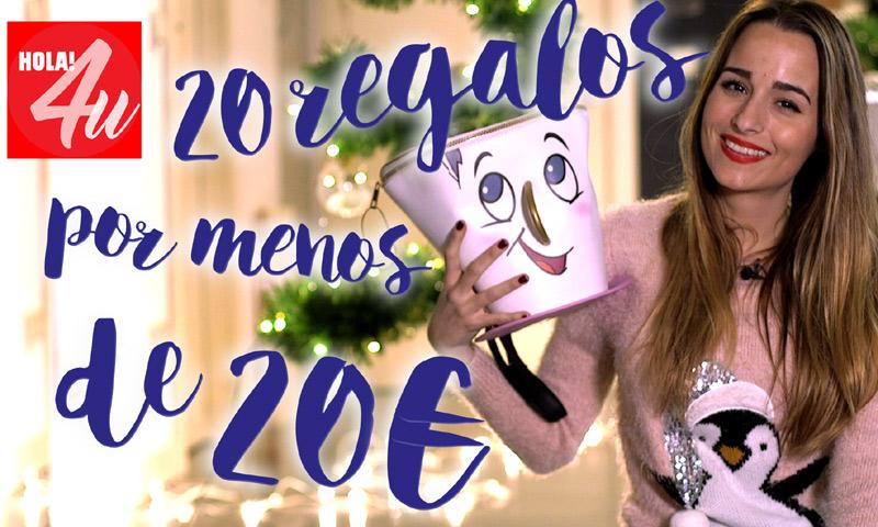 20 regalos por menos de 20 euros, con Sylvia Salas en HOLA!4u