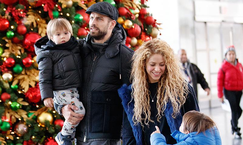 Un viaje en familia a Nueva York, la mejor medicina para Shakira