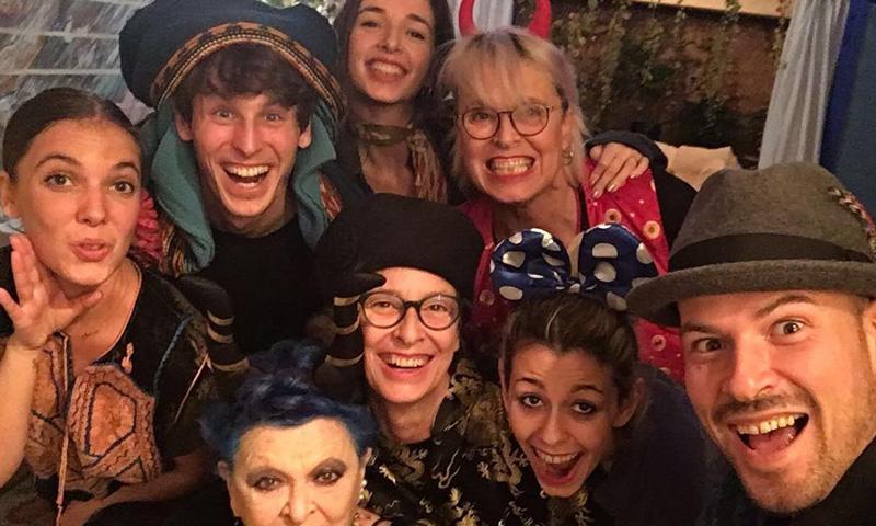 La familia Bosé se reúne por Navidad después de vivir su año más difícil