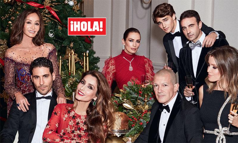En ¡HOLA!: entramos en exclusiva en la fiesta más glamurosa de la Navidad junto a los grandes protagonistas del año