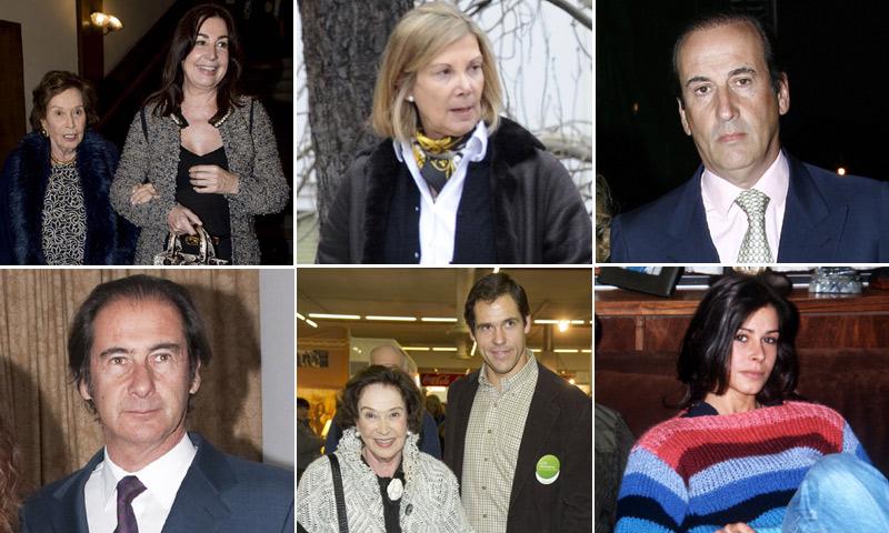 Quién es quién en la familia de Carmen Franco