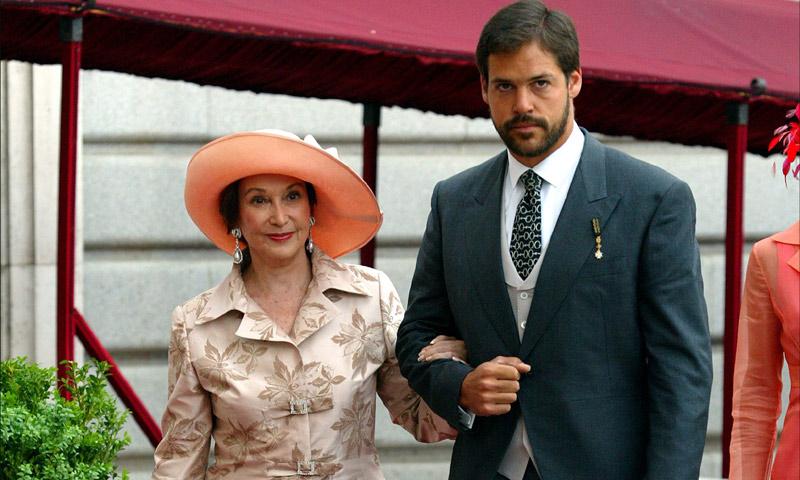 La estrecha relación de Carmen Franco y su nieto Luis Alfonso de Borbón