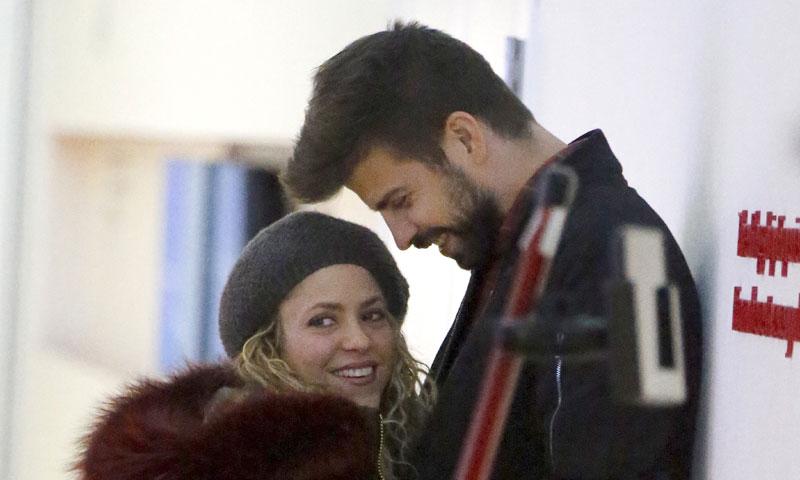 Shakira y Piqué regresan de su viaje familiar tras el susto vivido en Nueva York