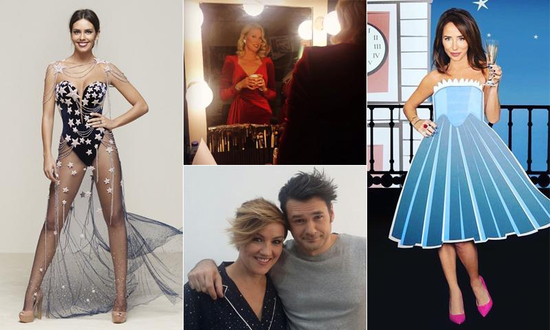 ¿Cómo serán los vestidos de las presentadoras de las campanadas? ¡Te damos algunas pistas!