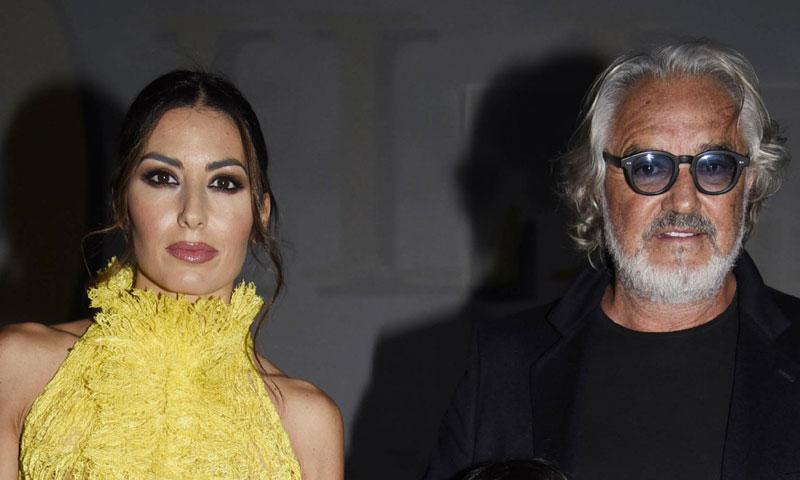 Flavio Briatore y Elisabetta Gregoraci se separan tras casi una década de matrimonio
