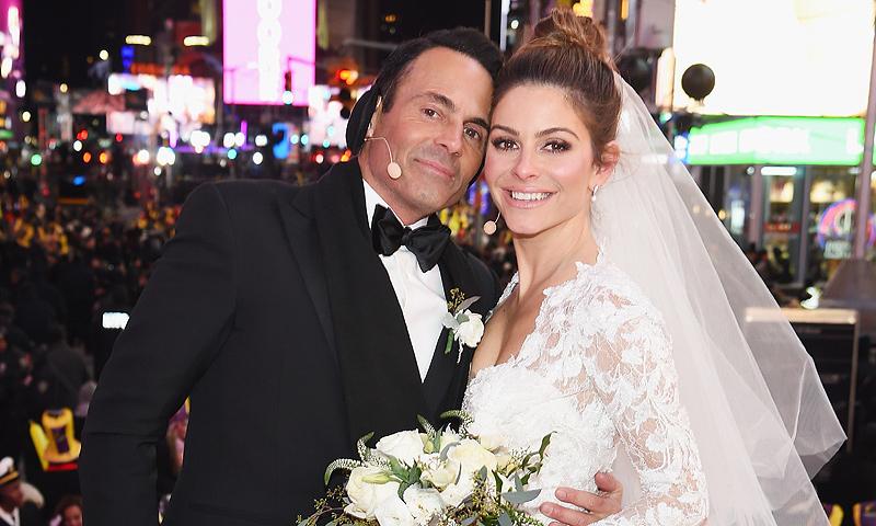 La presentadora Maria Menounos se casa en Times Square, en Nochevieja ¡y en directo!