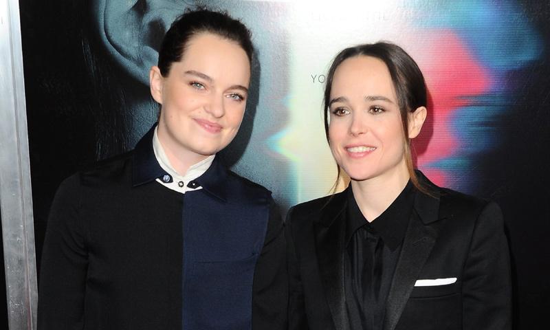 Ellen Page, boda sorpresa con su novia de hace seis meses